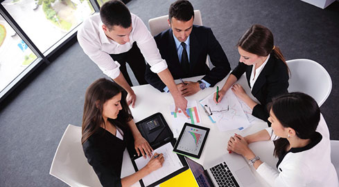 Mini grupo para ejecutivos